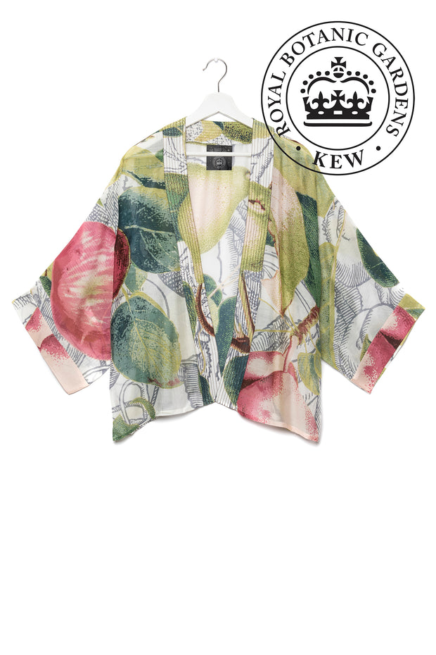 Apples and Pears White Kimono