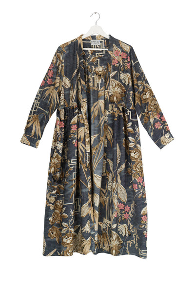 Bamboo Slate Duster Coat