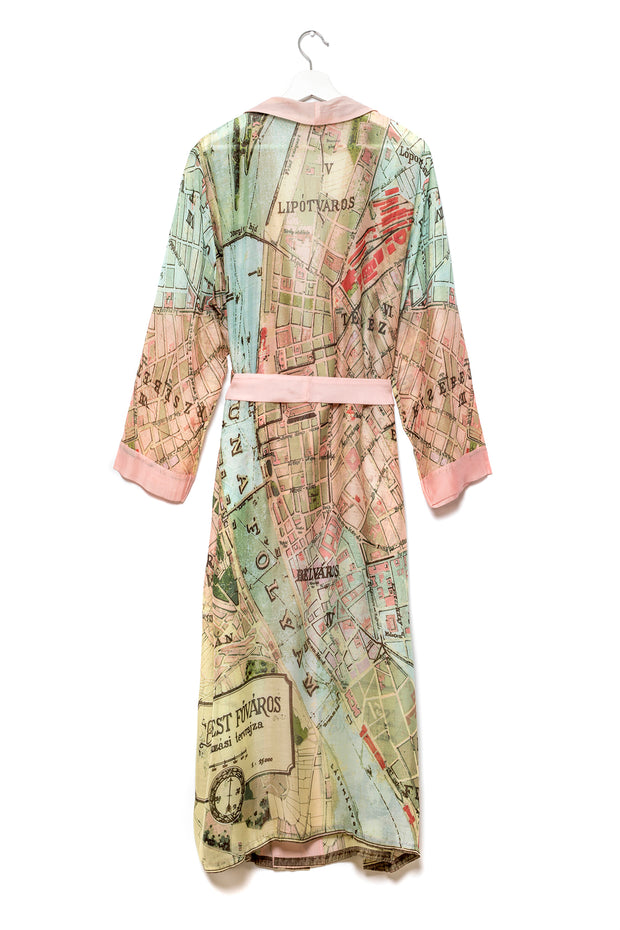 Budapest Map Gown
