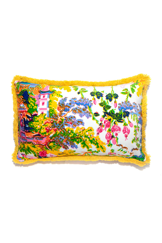 China Tree Summer Cushion