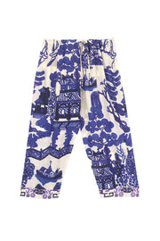 Giant Willow Blue Cropped Lounge Pants