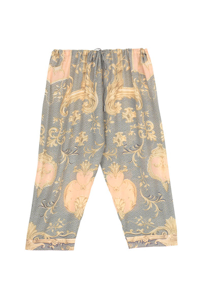 Rococo Grey Cropped Lounge Pants