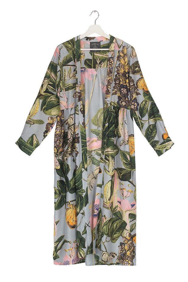 Marianne North Chilli Plant Duster Coat