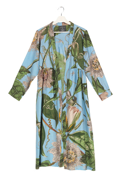 Passion Flower Sky Duster Coat