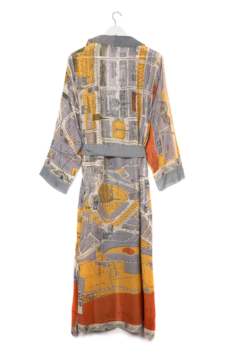 One Hundred Stars Edinburgh & Leith Map Gown