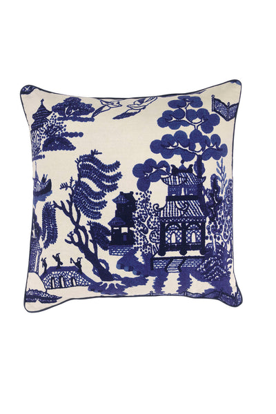Giant Willow Cotton Square Cushion