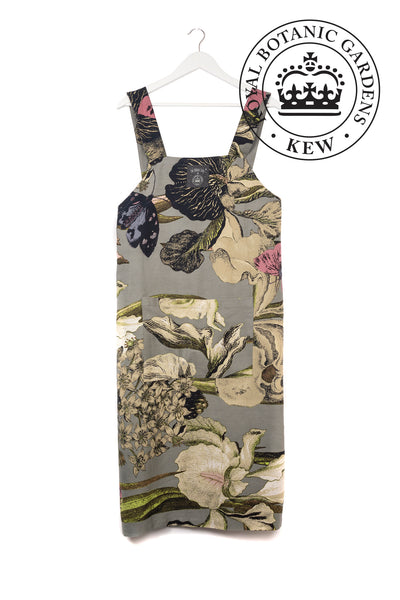 One Hundred Stars KEW Iris Grey Apron