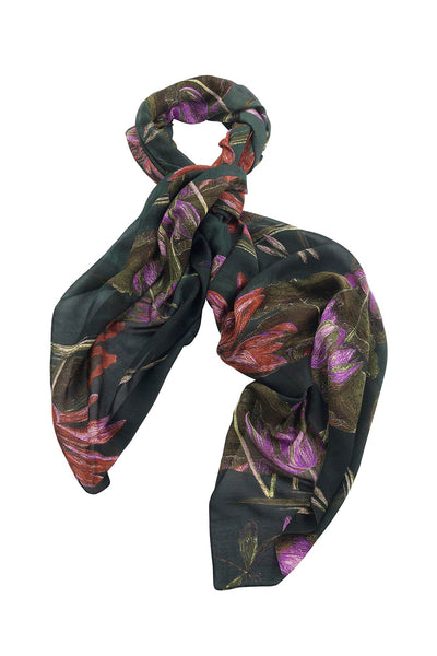 Marianne North Indian Lily Scarf