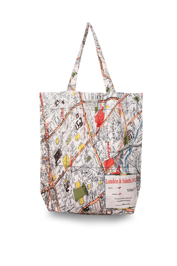 One Hundred Stars London Map Bag