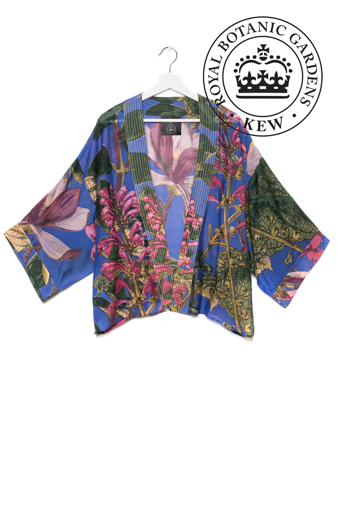 One Hundred Stars & KEW RBG Magnolia Purple Kimono