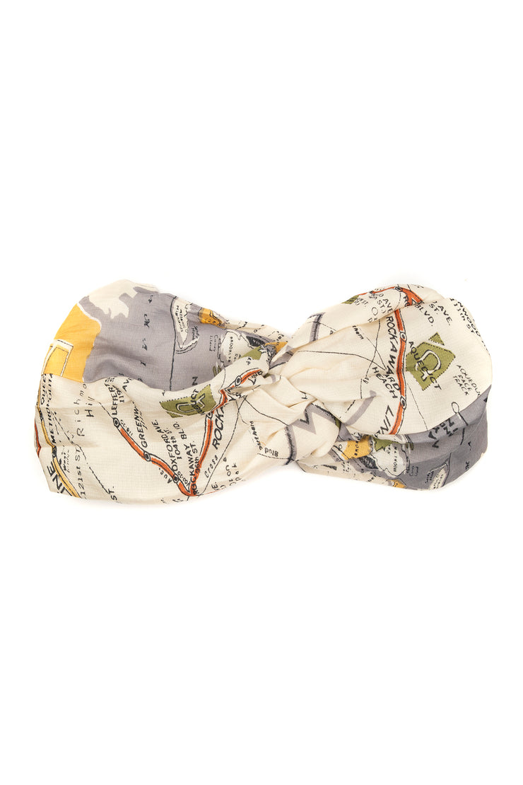 One Hundred Stars New York City Map Headband