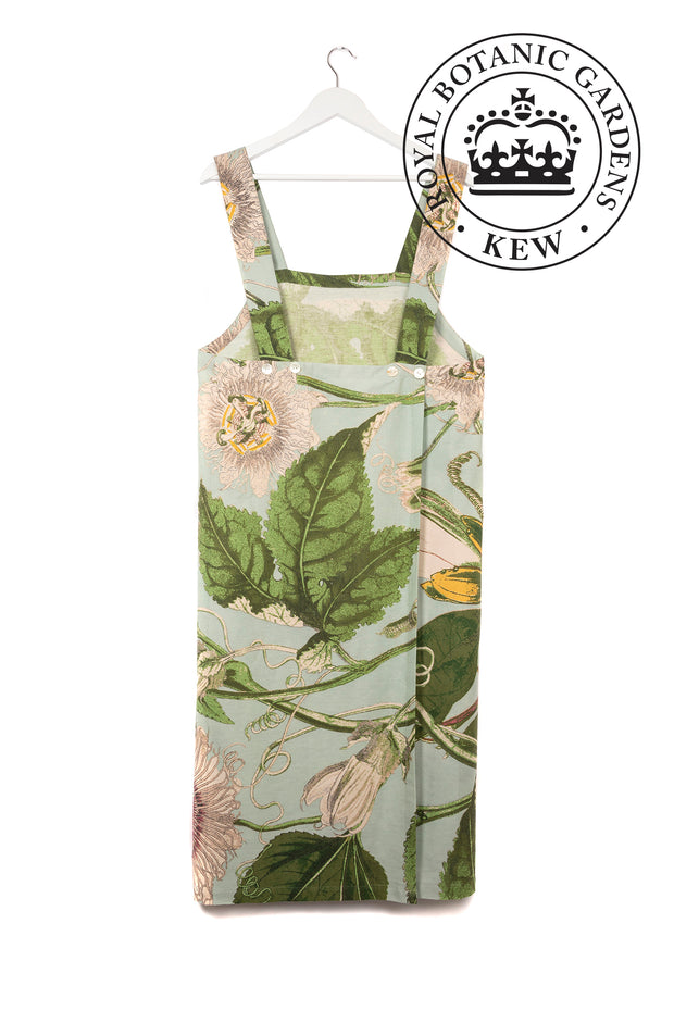 Passion Flower Aqua Pinafore