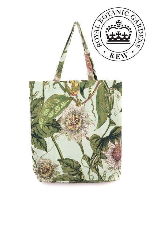 One Hundred Stars KEW Passion Flower Aqua Bag