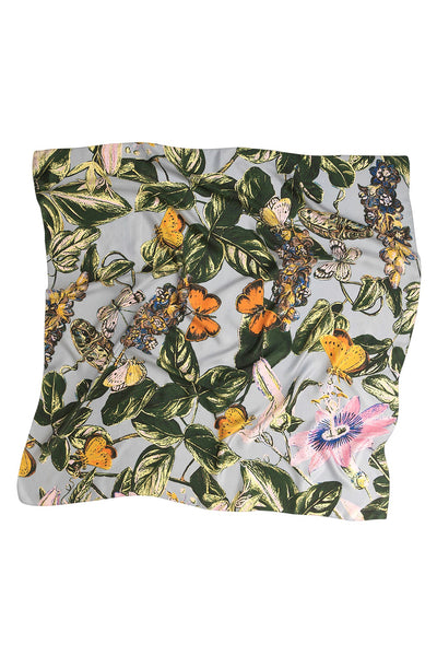 Marianne North Chilli Plant Silk Scarf