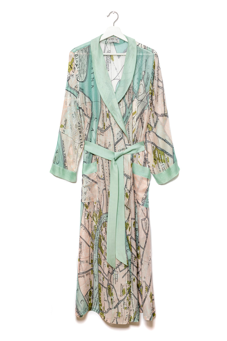 One Hundred Stars Venice Map Gown