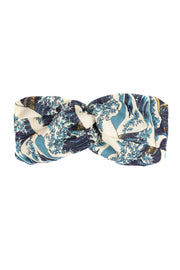 Wave Blue Headband