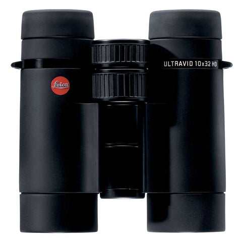 Leica 10x32 Ultravid HD Binocular - Black Armored