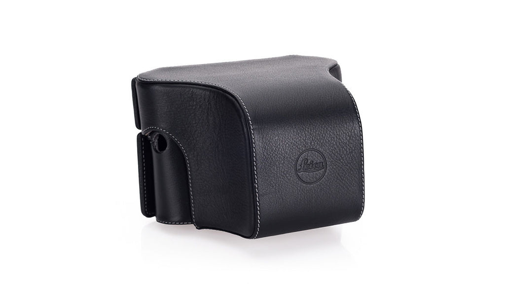 Leica ever ready case with small front, black for Leica M ref. 14547