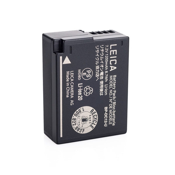 Leica Q bateria Lithium battery bp-dc12  ref. 19500 for leica Q