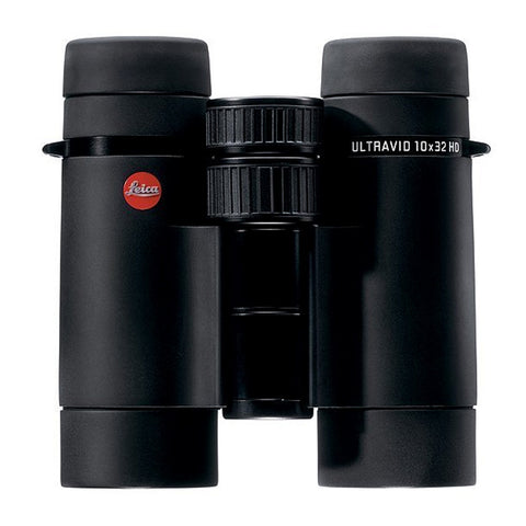 Leica 8x32 Ultravid HD Binocular - Black Armored