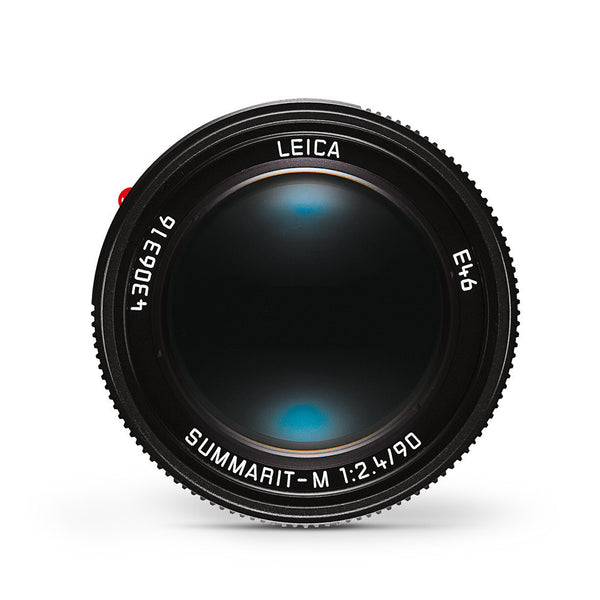 Leica Summarit-M 90mm f/2.4 Black Anodized Finish