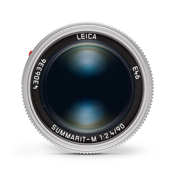 Leica Summarit-M 90mm f/2.4 Silver Anodized Finish