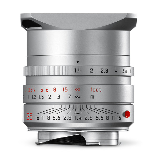 Leica Summilux-M 35mm f/1.4 ASPH, Silver Anodized Finish   11 675