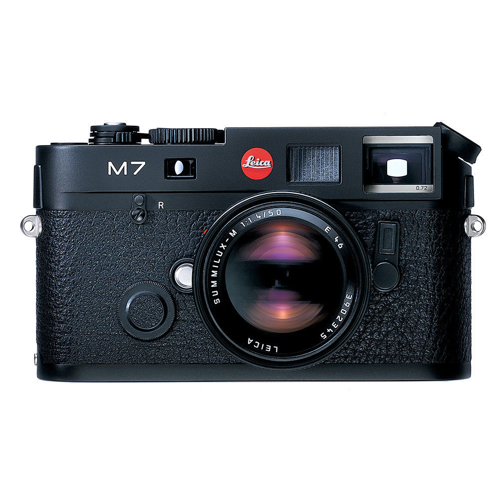 Leica M7 Set - Black w/ con objetivo Summicron-M 50mm f/2