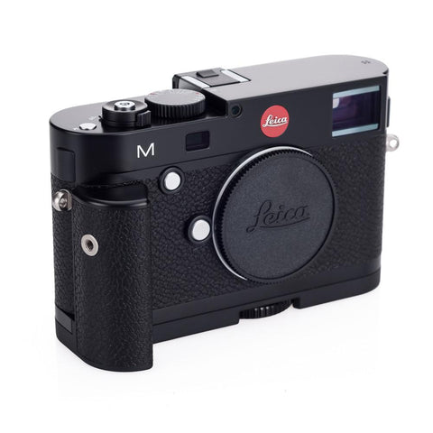 HAND GRIP LEICA M black paint finish  14 496