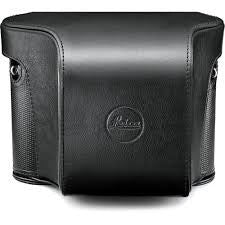 Leica Ever ready case Leica Q (Typ 116), leather, black ref. 19502