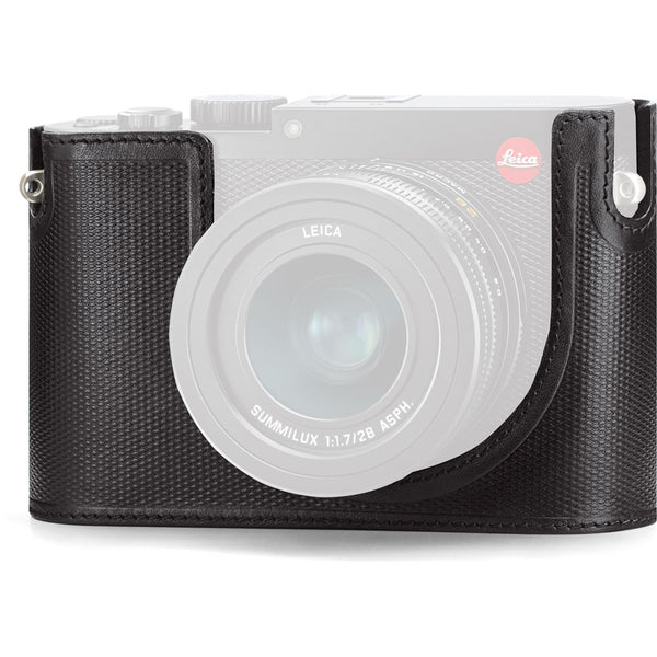 Leica Protector Leica Q (Typ 116), leather, black    ref. 19501