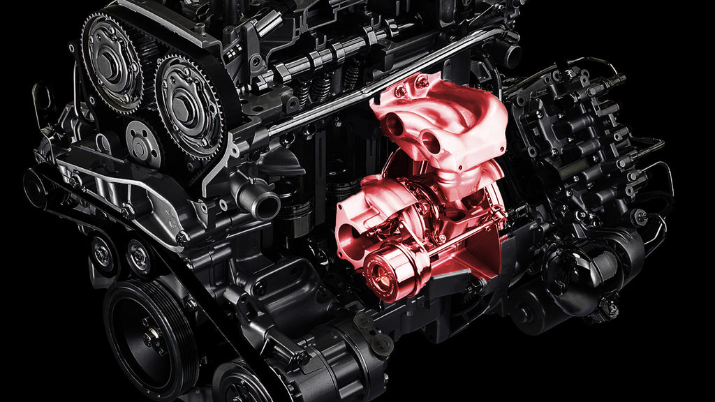 ALFA ROMEO 4C ENGINE PART 3: The Turbocharging System