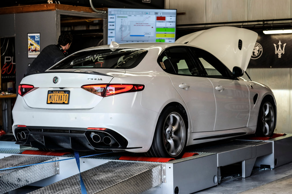 SUCCESSFUL NORTH AMERICAN ALFA ROMEO GIULIA QUADRIFOGLIO DYNO