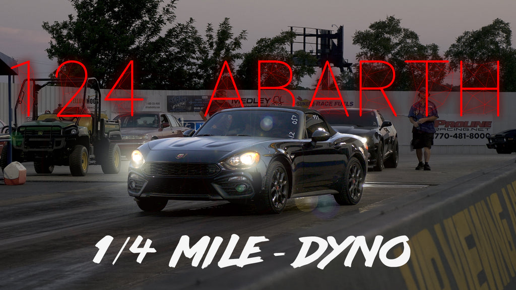 EP. 02 / STOCK DYNO-QUARTER MILE / 124 ABARTH - EC SESSIONS