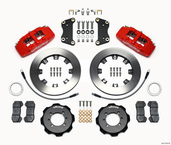 WILWOOD DYNAPRO 6 BIG BRAKE KIT ABARTH/500T/500 - EUROCOMPULSION
