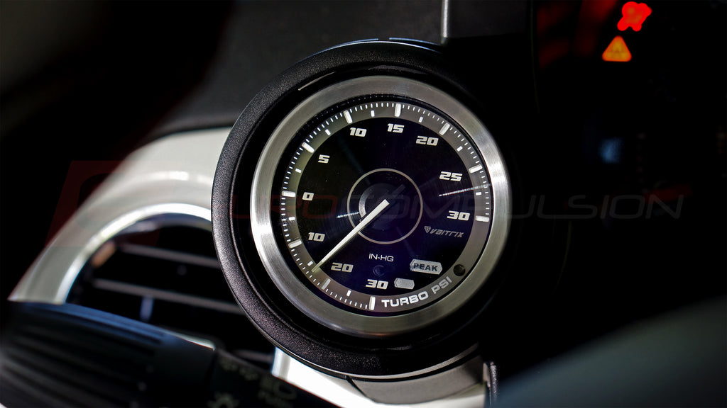 VAITRIX BOOST GAUGE - 30PSI PLUG-&-PLAY (JEEP RENEGADE 1.4L)