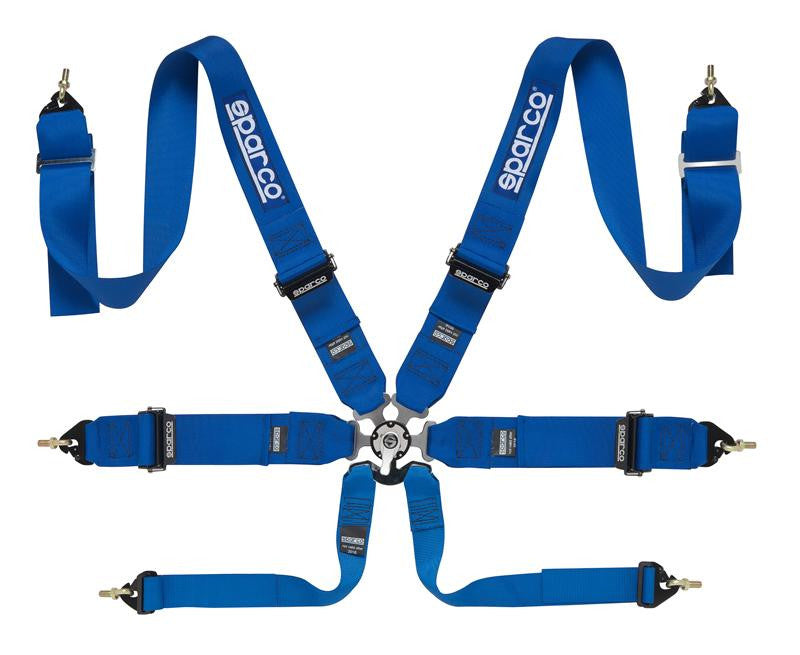 SPARCO 6PT PULL DOWN HARNESS - EUROCOMPULSION