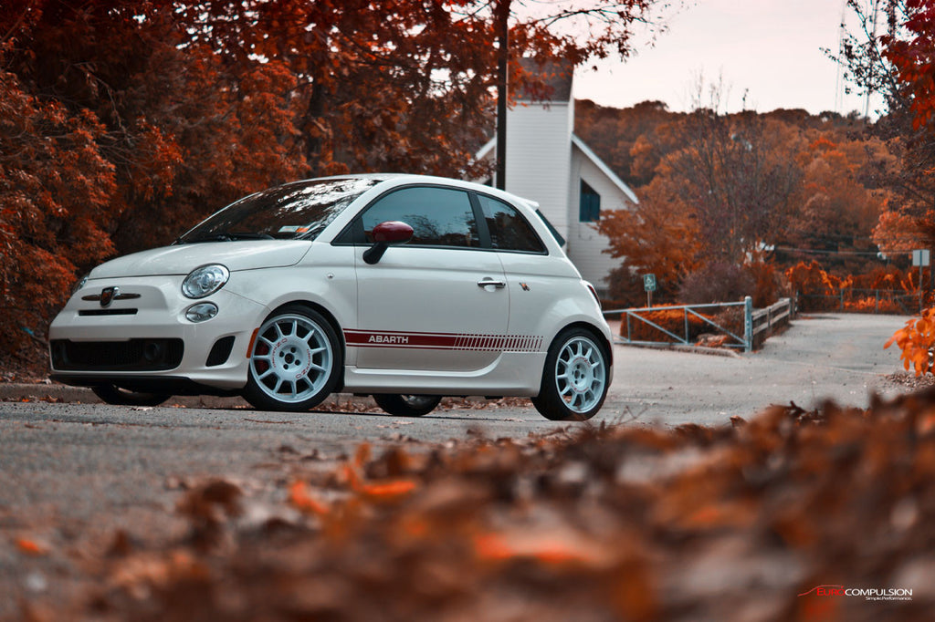 KW V1 COIL-OVER SYSTEM (FIAT 500 ABARTH/FIAT 500T/FIAT 500) - EUROCOMPULSION