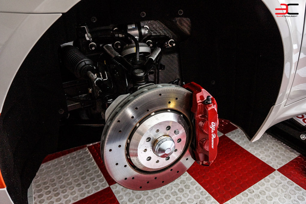 GENUINE ALFA ROMEO 4C FRONT BRAKE ROTORS - EUROCOMPULSION