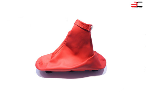 GENUINE ALFA ROMEO 4C RED LEATHER E-BRAKE BOOT