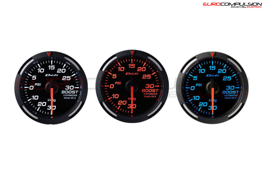 DEFI RACER BOOST GAUGE (52MM) - EUROCOMPULSION