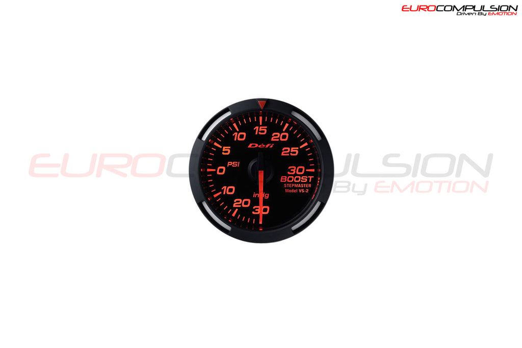 DEFI RACER BOOST GAUGE (60MM) - EUROCOMPULSION