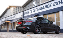 "Load image into Gallery viewer, SUPERSPRINT ""STREET"" CAT-BACK EXHAUST SYSTEM (ALFA ROMEO GIULIA QUADRIFOGLIO 2.9L)"