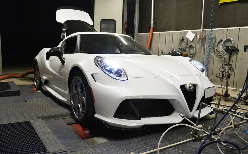 SUPERSPRINT TRACK PLUS+ PERFORMANCE PACK EXHAUST SYSTEM (ALFA ROMEO 4C)