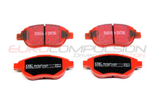 Load image into Gallery viewer, EBC RED BRAKE PADS (FIAT 500 ABARTH/500T) - EUROCOMPULSION
