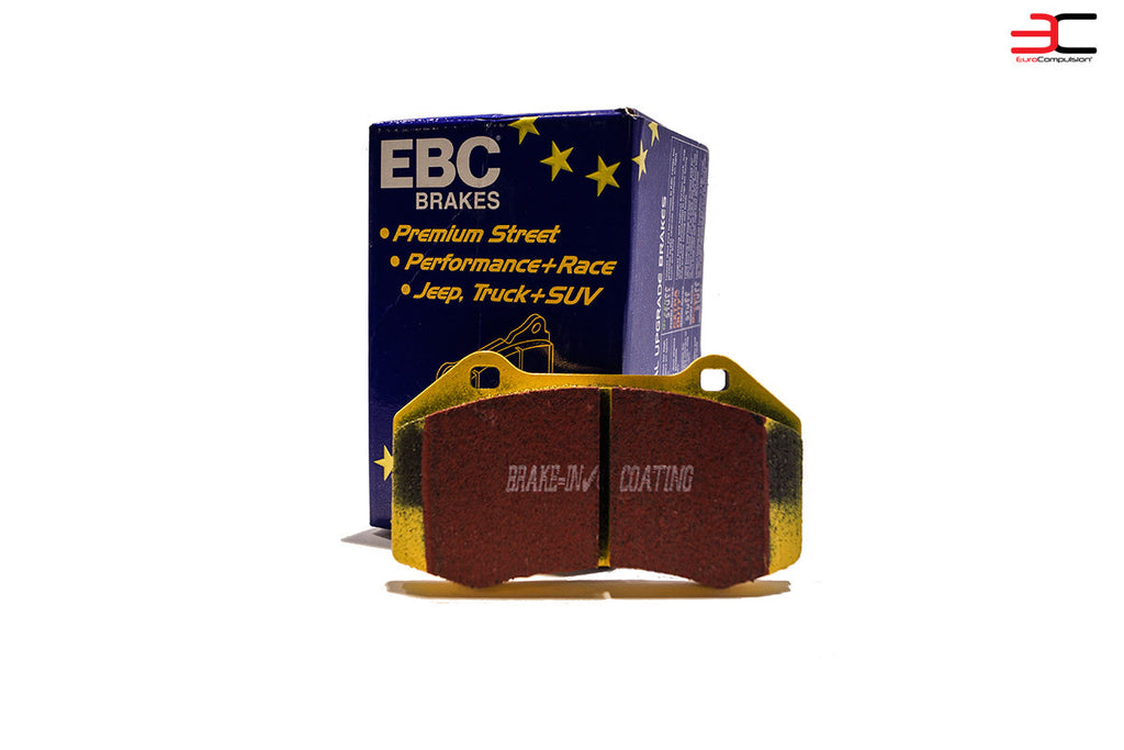 EBC YELLOW FRONT BRAKE ALFA ROMEO 4C BRAKE PADS - EUROCOMPULSION