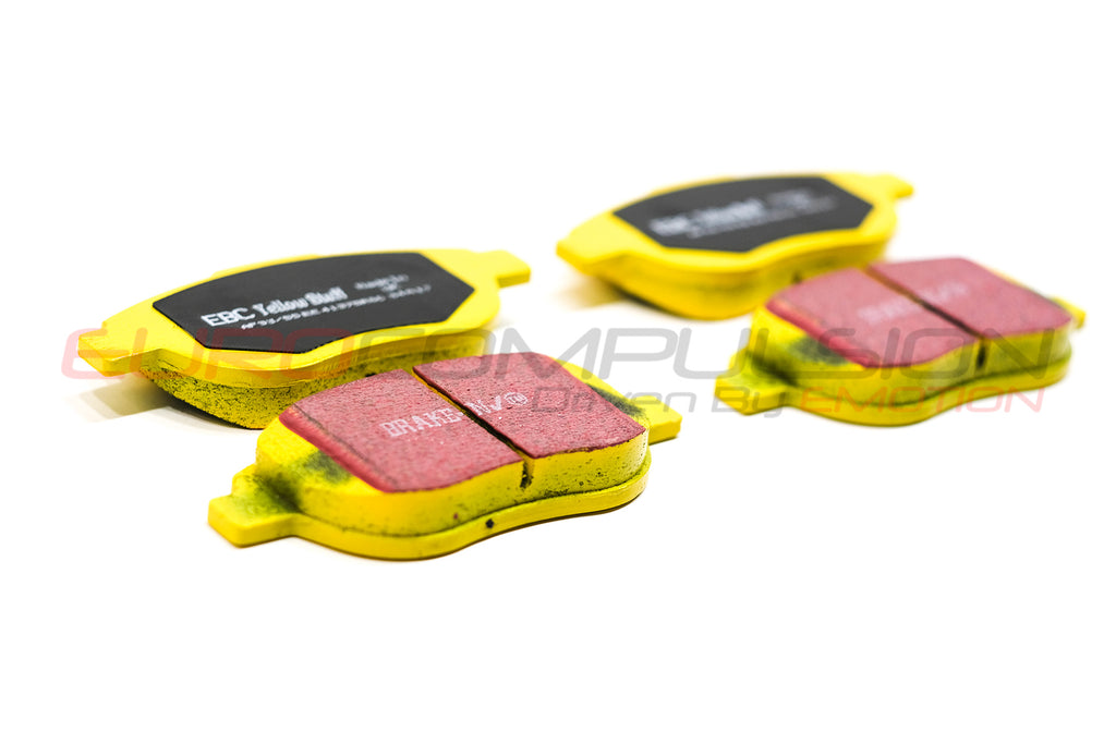 EBC YELLOW FRONT BRAKE PADS (ABARTH/500T) - EUROCOMPULSION