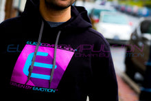 "Load image into Gallery viewer, EUROCOMPULSION ""90's"" HOODED SWEATSHIRT"