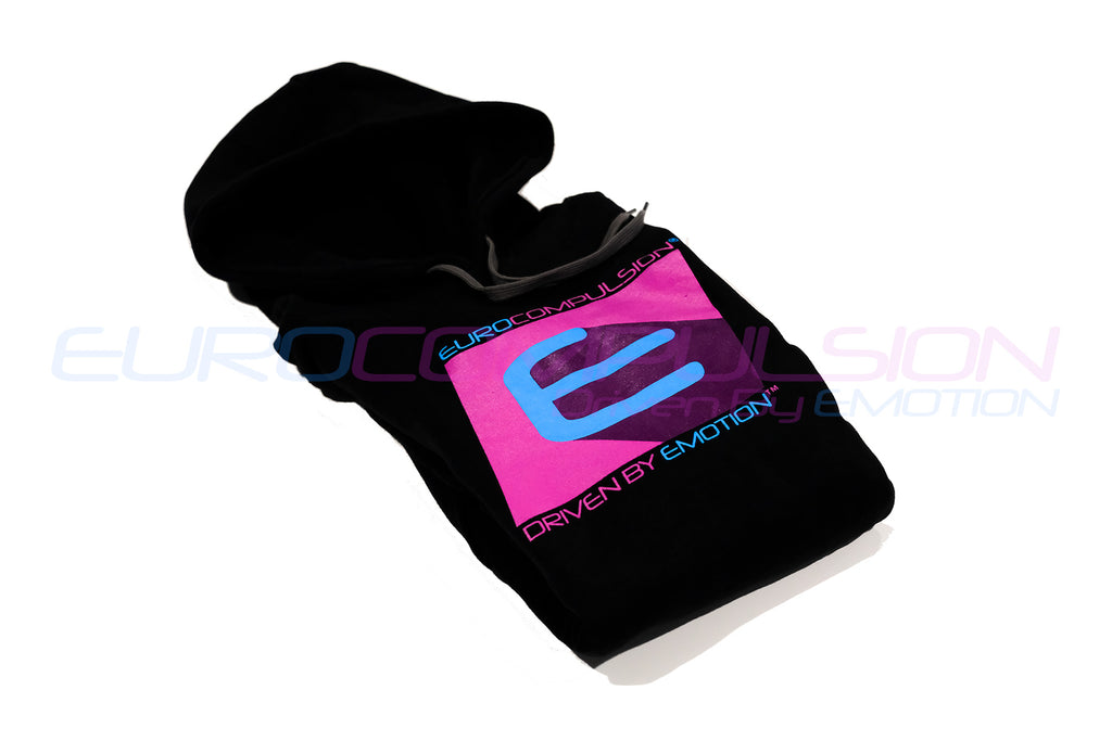 "EUROCOMPULSION ""90's"" HOODED SWEATSHIRT"