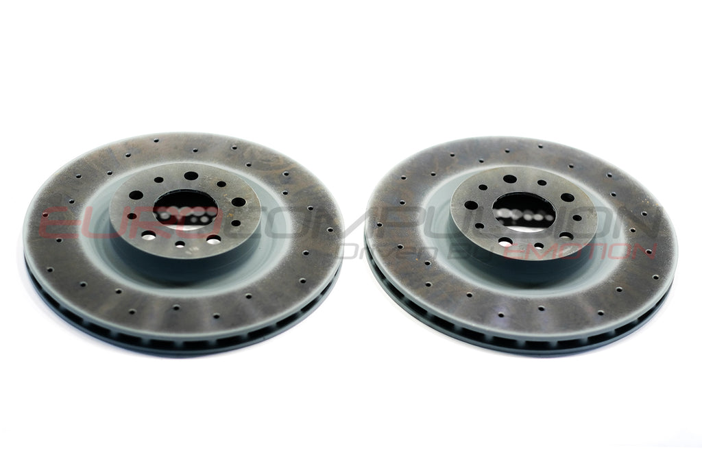 GENUINE ALFA ROMEO 4C REAR BRAKE ROTORS